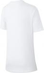 Dětské tričko s krátkým rukávem Nike Paris Saint-Germain Crest