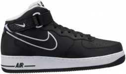 air force 1 mid 07 leather sneaker