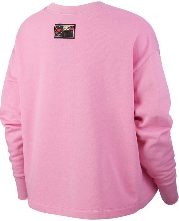Sweatshirt Nike W NSW NSP CREW FLC FT BF Top4Running.at