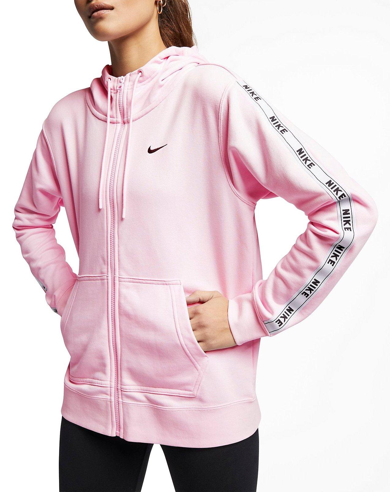Női Rózsaszín Nike Kapucnis Melegítők