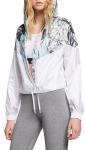 Bunda s kapucňou Nike W NSW HYP FM JKT CROP WR AOP