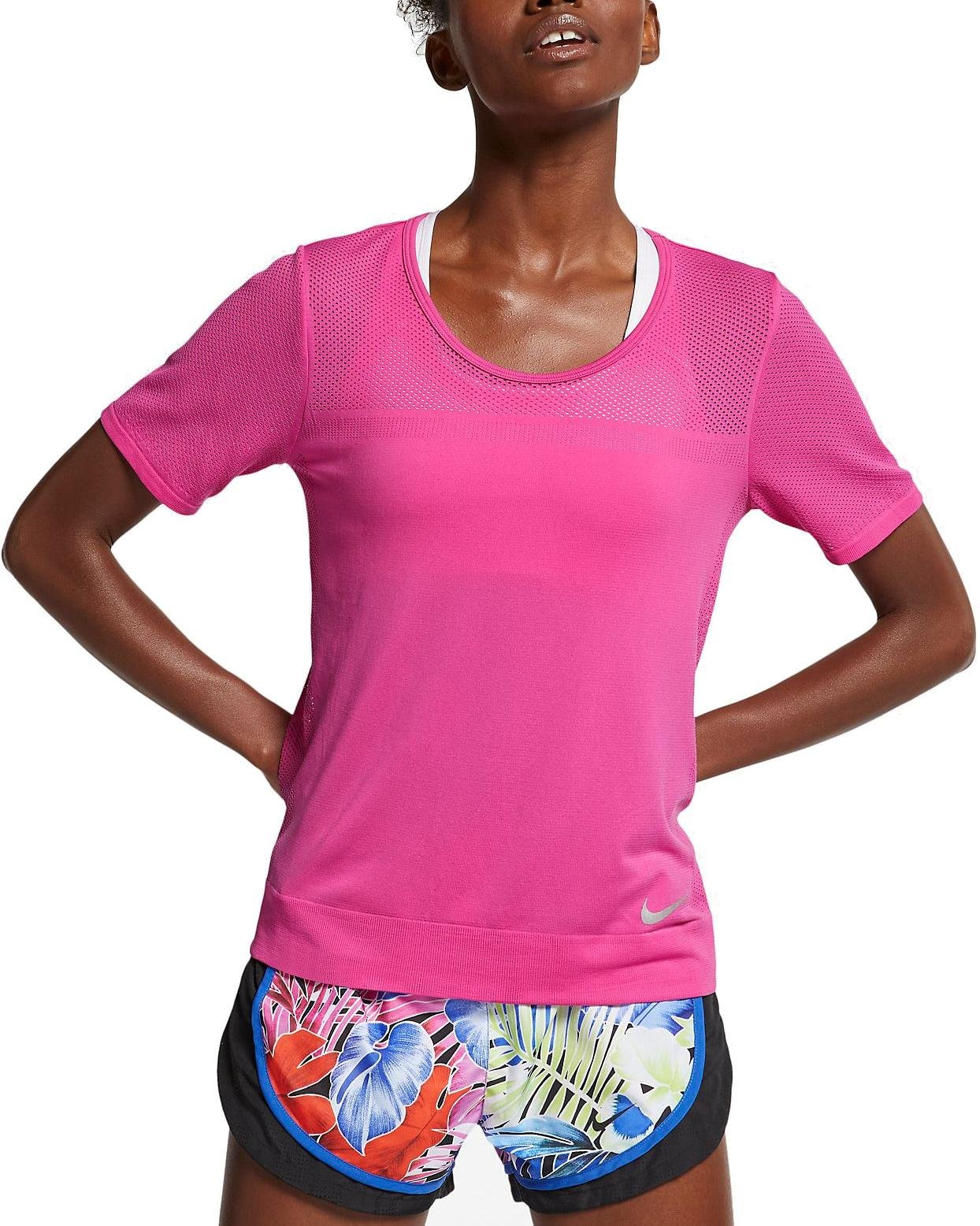 Dámské běžecké triko s krátkým rukávem Nike Infinite