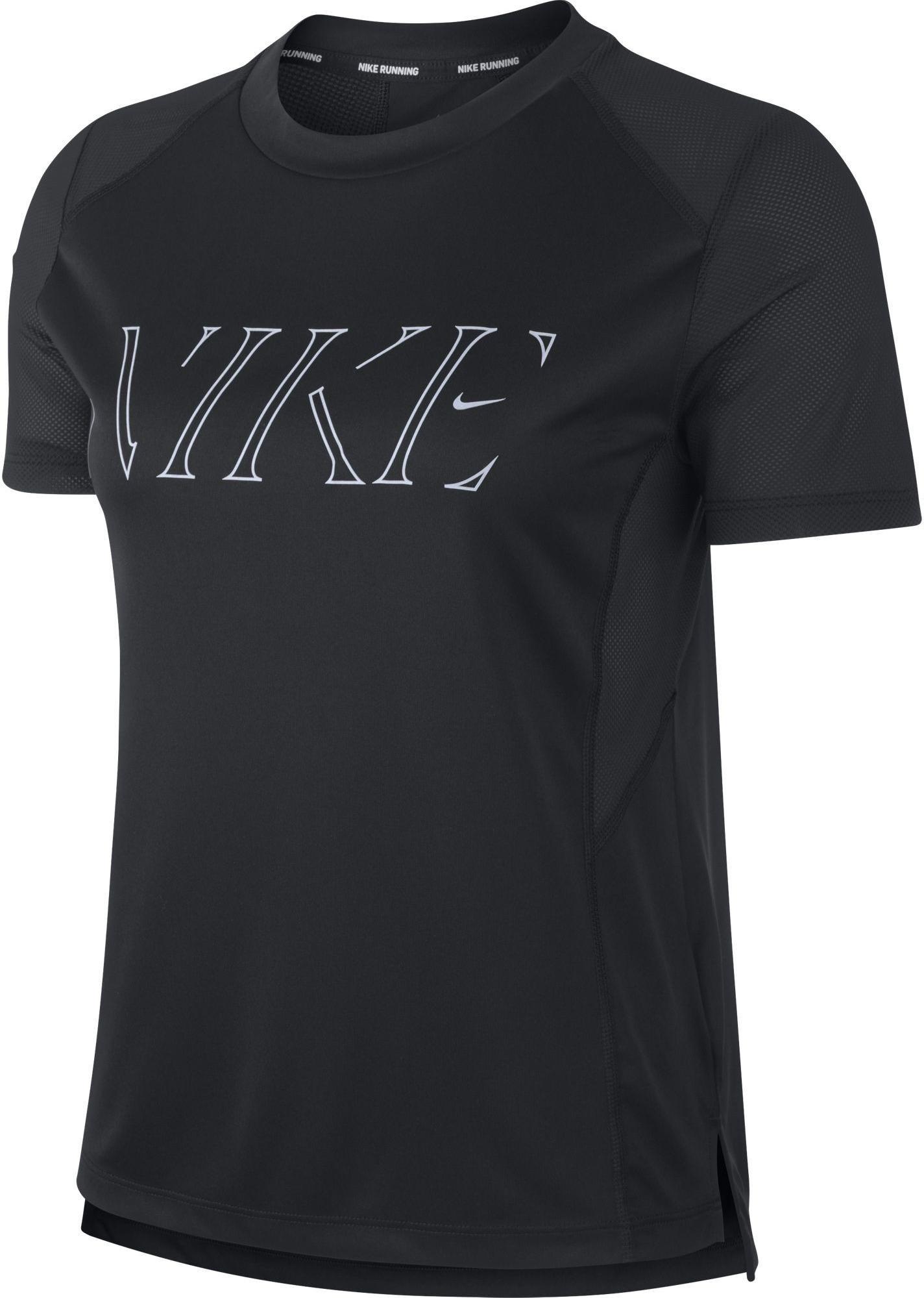 Dámské běžecké tričko s krátkým rukávem Nike Miler