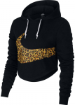 W NSW HOODIE CROP ANML