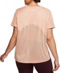 Dámské běžecké tričko s krátkým rukávem Nike Miler (plus size)