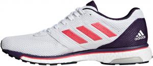 scarpe running Adidas adios 4 2019 colore azzurro,bianco