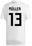 adi dfb germany jersey home wm 2018 inkl. müller 13