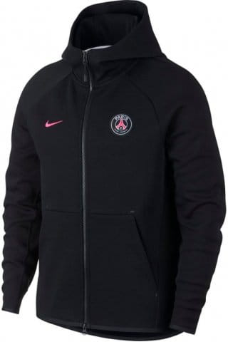 Mikina s kapucí Nike PSG Y NSW TCH FLC FZ ESSNTIALS
