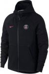 Nike PSG Y NSW TCH FLC FZ ESSNTIALS Kapucnis melegítő felsők