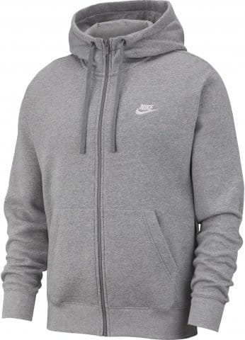 Mikina s kapucí Nike M NSW CLUB HOODIE FZ BB