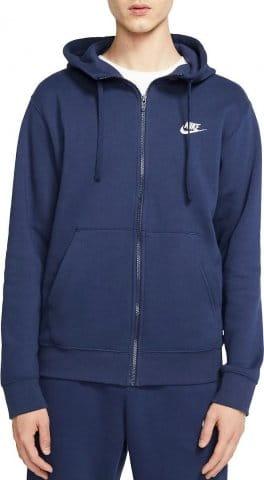 Sweatshirt met capuchon Nike M NSW CLUB HOODIE FZ BB