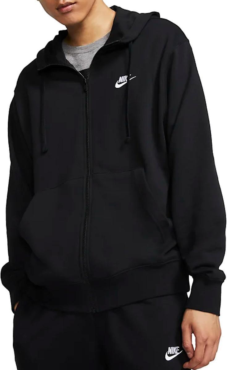Mikina s kapucňou Nike M NSW CLUB HOODIE FZ FT