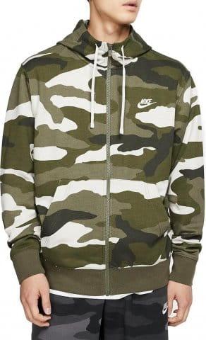 Sweatshirt à capuche Nike M NSW CLUB HOODIE FZ FT CAMO