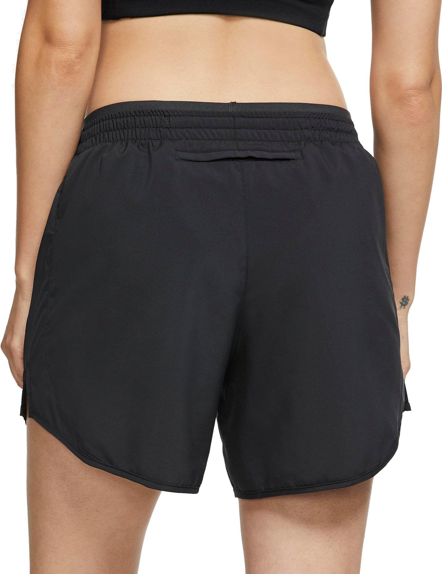 Mujer S NIKE W Nk Tempo LX Short 3in Pantalones Cortos de Deporte Black//Anthracite// Reflective silv