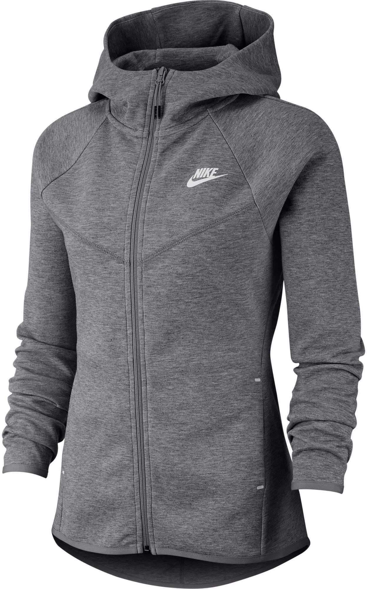 Sweatshirt à capuche Nike W NSW TCH FLC WR HOODIE FZ