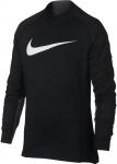 Triko s dlouhým rukávem Nike B NP LS THERMA MOCK GFX