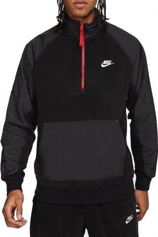 Triko s dlouhým rukávem Nike M NSW CE TOP HZ WINTER