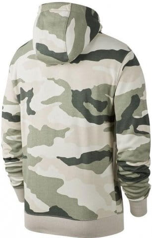 Nike Mens M Nsw Club Camo Hoodie Fz Bb Jacket