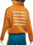 Dámský zkrácený flísový top Nike Pro