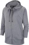 Mikina s kapucí Nike W NK DRY FLC GET FIT HOODIE FZ