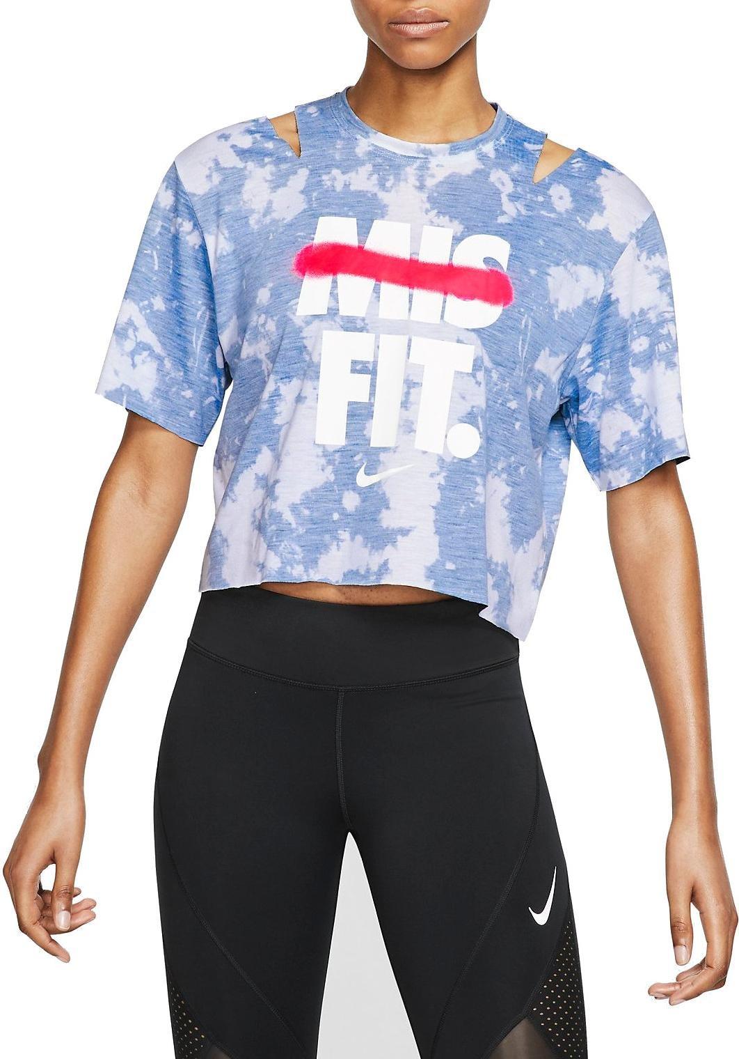13645e3ea63db1 T-shirt Nike W NK ICON CLSH SS CP T TD GX - Top4Fitness.com