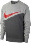 M NSW SWOOSH CREW FT