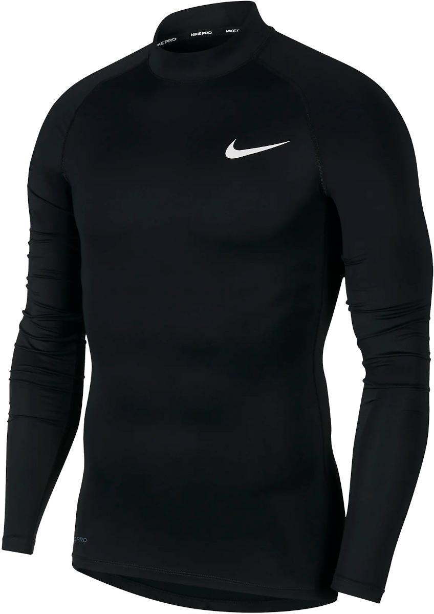 Langarm-T-Shirt Nike M NP TOP LS TIGHT MOCK