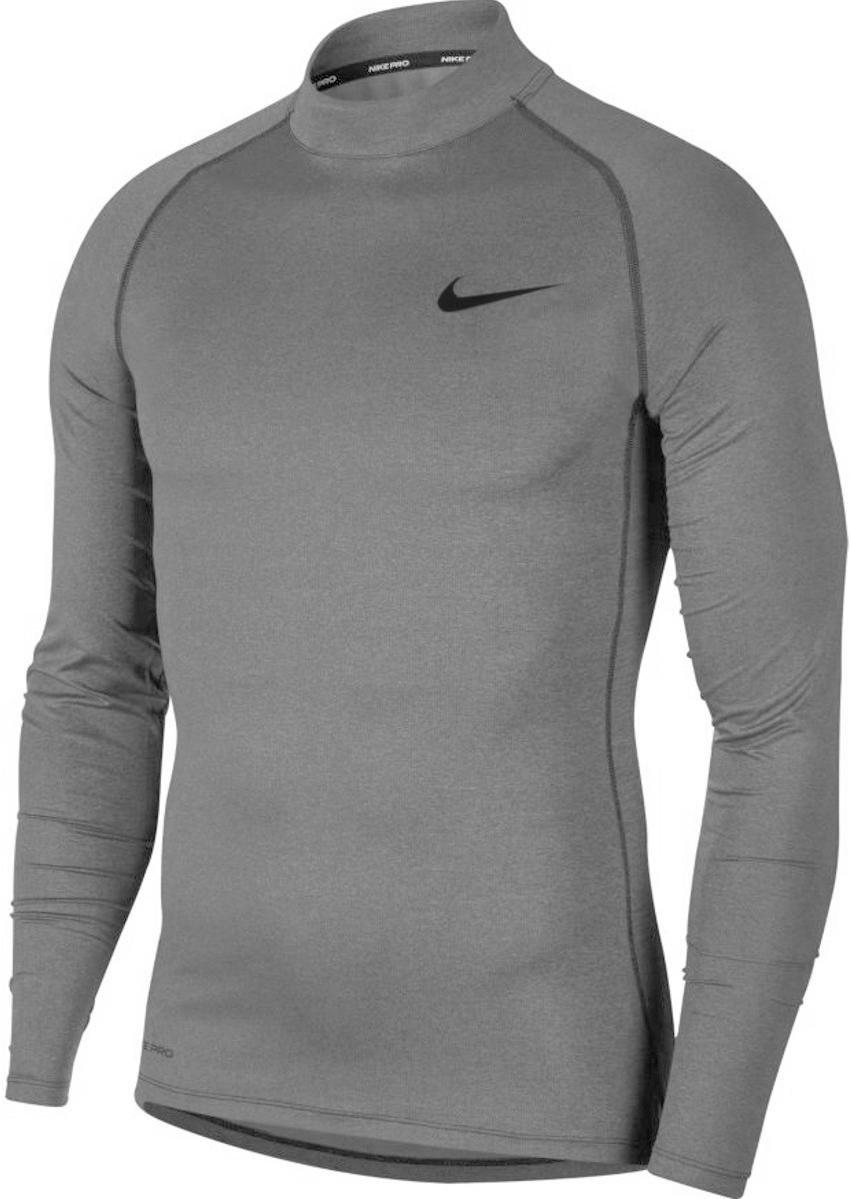Hueso rueda datos  Camiseta de manga larga Nike M NP TOP LS TIGHT MOCK - Top4Running.es