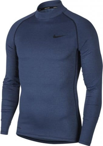 nike m np top ls tight mock 224502 bv5592 451 480