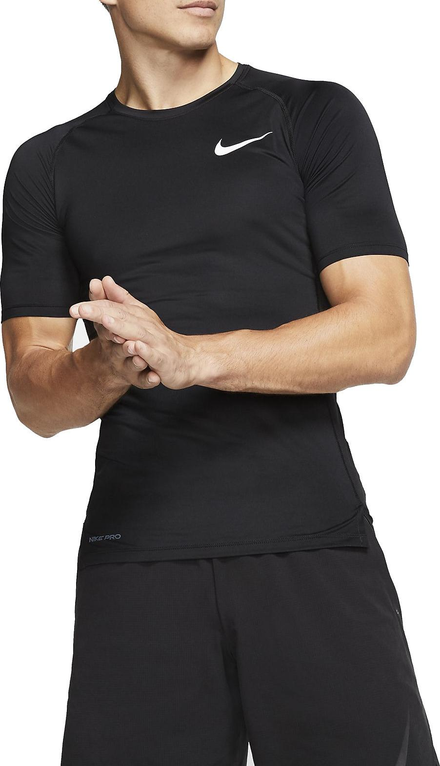 Compression T shirt Nike M NP TOP SS TIGHT
