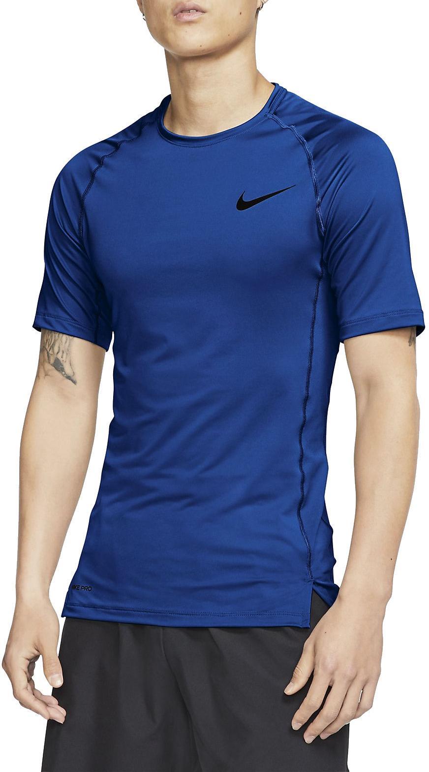Camiseta de compresión Nike M NP TOP SS TIGHT
