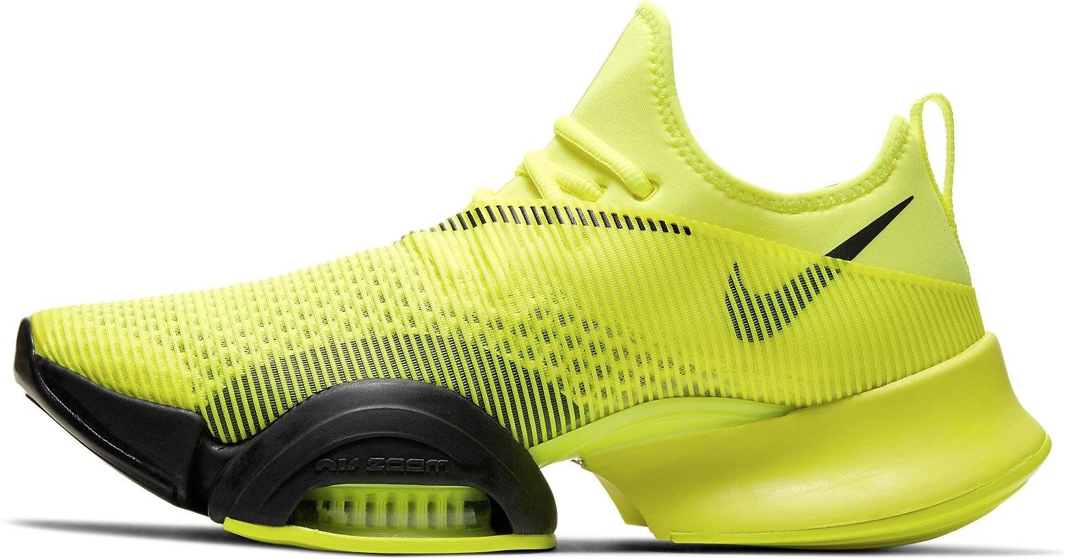 nike air zoom jaune