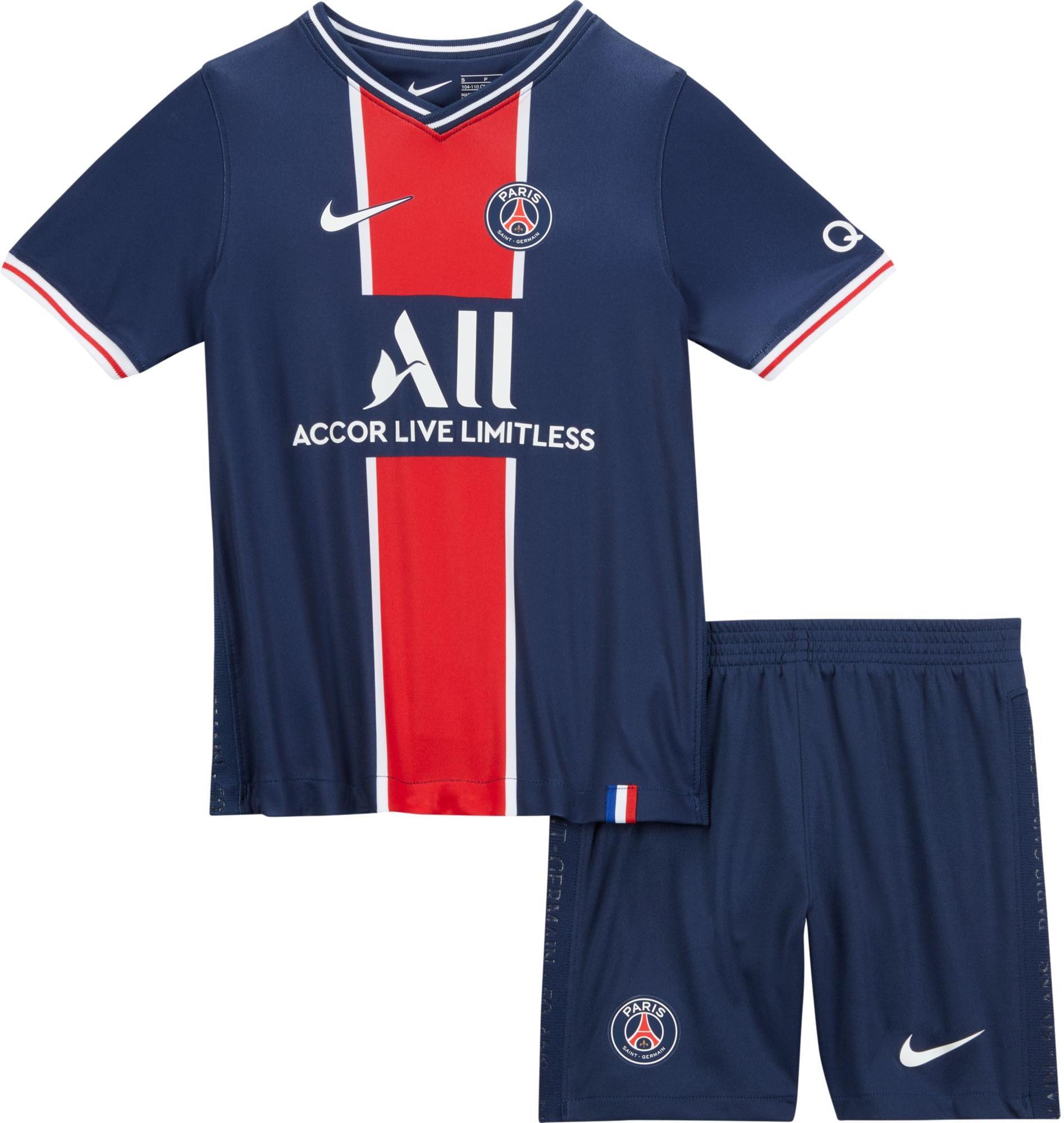 Kit Nike Psg Lk Nk Brt Kit Hm 2020 21 Top4football Com