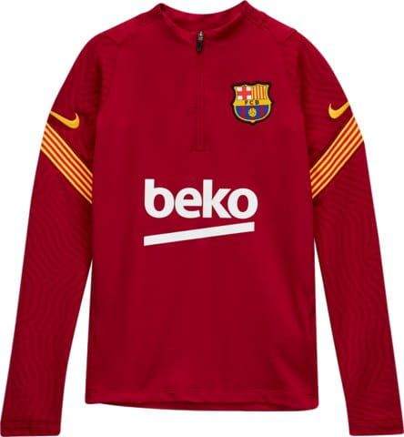Y NK FC BARCELONA STRIKE DRY 1/4 ZIP TOP