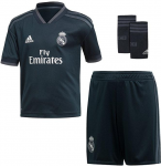 real madrid minikit away 2018/2019