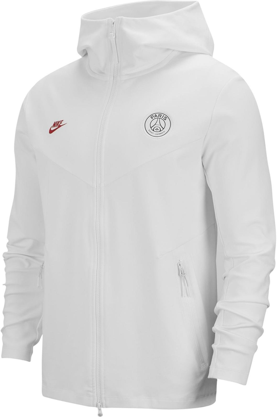 Sweatshirt à capuche Nike PSG M NSW TCH PCK HOODIE FZ CL