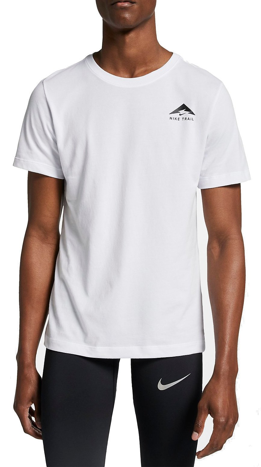 T shirt Nike M NK RUN DCFT TRAIL LOGO TEE