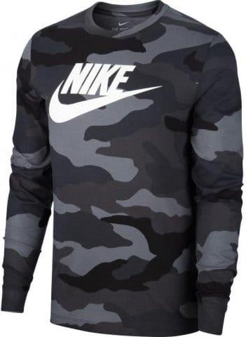 Triko s dlouhým rukávem Nike M NSW LS TEE CAMO