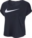 Dámské běžecké tričko s krátkým rukávem Nike Swoosh