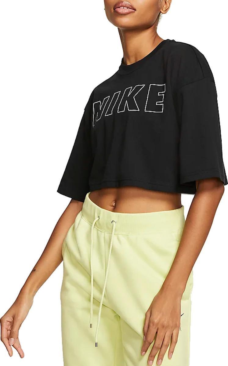 T Shirt Nike W NSW AIR TOP SS CROP