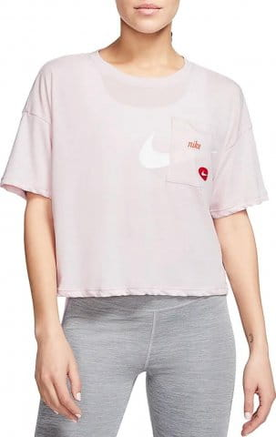 T-shirt Nike W NK S/S TOP GX ICNCLSH WOW