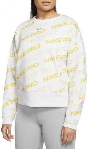Sudadera Nike W NP CLN FLEECE CREW PRT