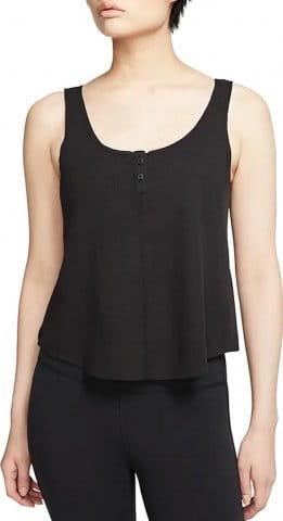 Maillot Nike W NK YOGA LUXE HENLEY TANK