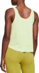 Camiseta Nike W NK YOGA LUXE HENLEY TANK