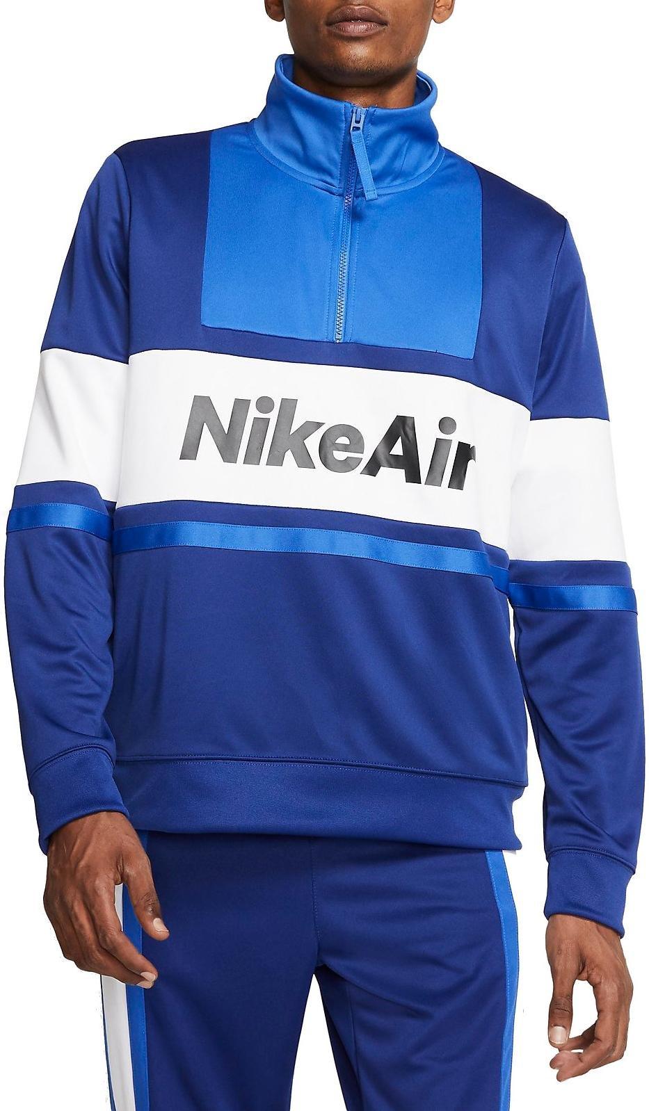 Pánská bunda se čtvrtinovým zipem Nike Air
