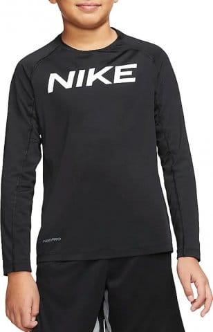 T-shirt met lange mouwen Nike B NP LS FTTD TOP