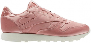 classic leather satin sneaker