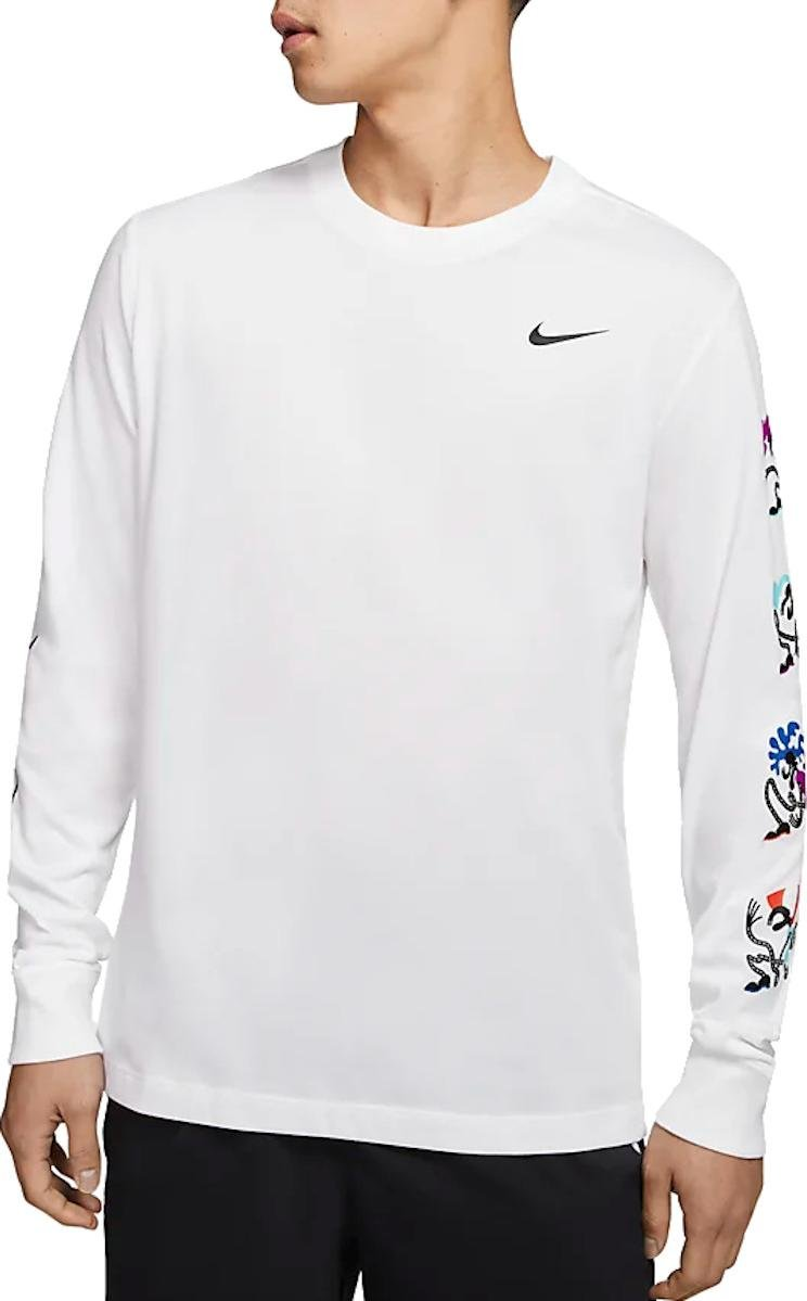 Long sleeve T shirt Nike M NK DRY TEE LS DFCT TOKYO