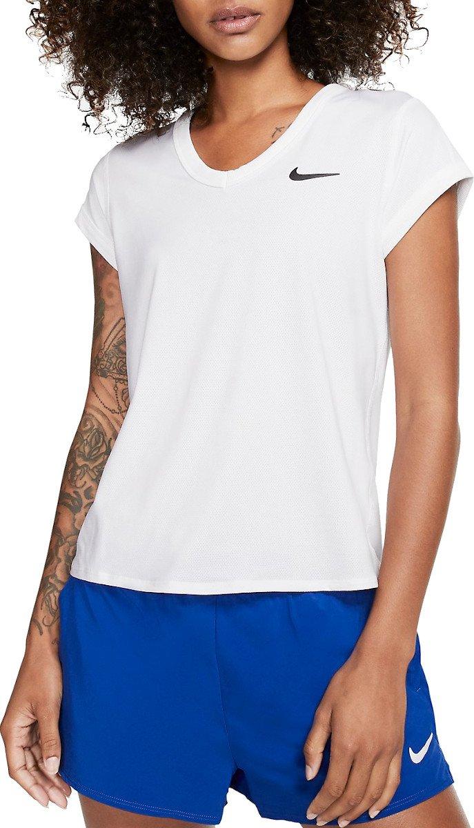Dámský tenisový top s krátkým rukávem Nike Court Dri-FIT