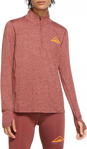 W 1/2-Zip Trail Running Top